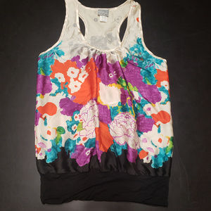 Daytrip small multi colored floral tank